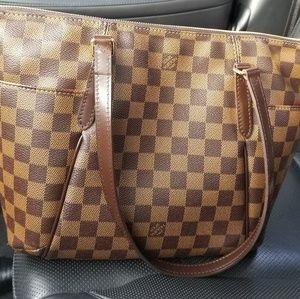Louis Vuitton Total Damier Checkered Handbag